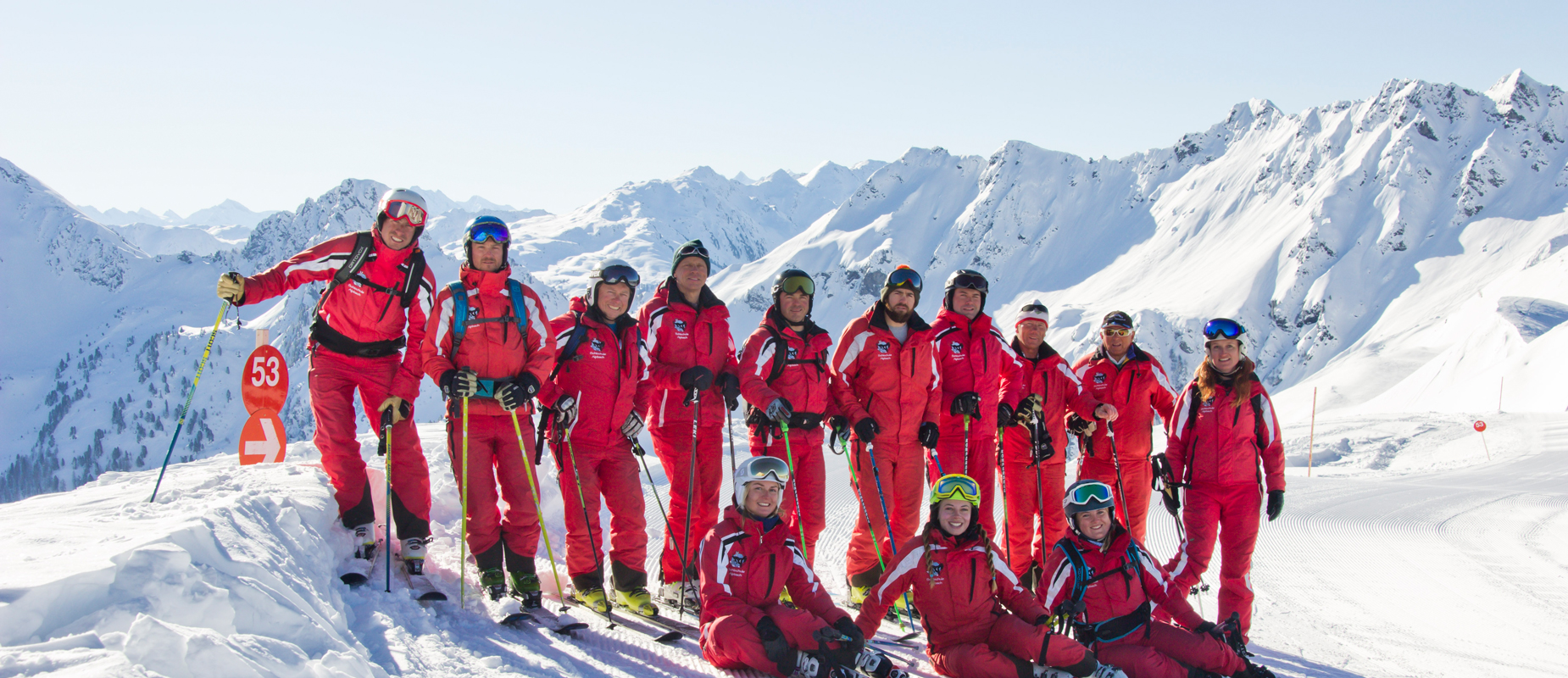 Ski school with tradition Trained ski instructors and kindergarten teachers